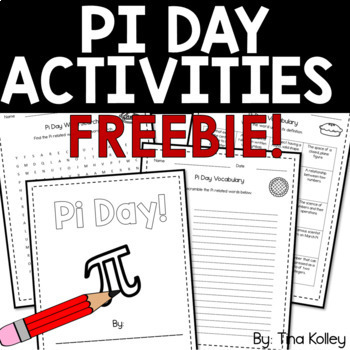 Pi Word Search and Crossword Puzzles