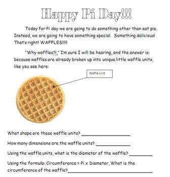 Pi day bundle! (With WAFFLES)
