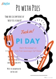 Pi with Pies Math Worksheet for Pi Day