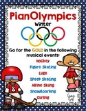 PianOlympics: Winter Olympic Games for Music Lessons