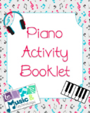 Piano Activity Booklet