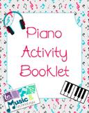Piano Activity Booklets Bundle