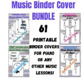 Piano Binder Cover BUNDLE