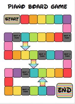 Piano Board Game
