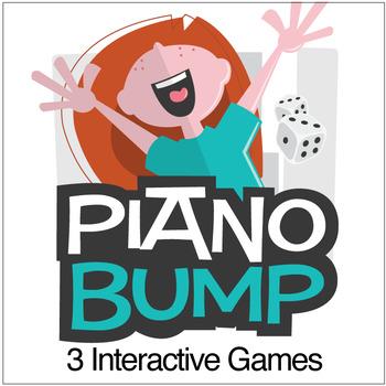 Piano Bump | Skill Building Games for Kids (Digital Print)