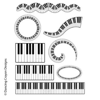 music clip art piano keyboard borders and clipart by dancing rh teacherspayteachers com music piano keyboard clipart colorful piano keyboard clipart