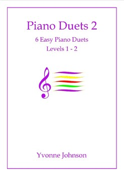 Piano Duets 2 - 6 Easy Piano Duets Levels 1 - 2