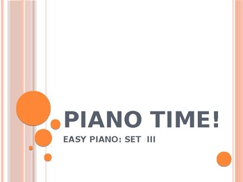Piano Easy Songs