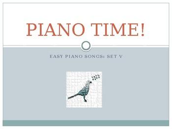 Piano Easy Songs