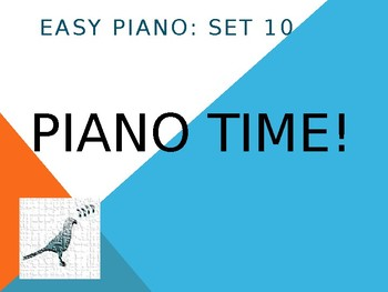 Piano Easy Songs Set 10