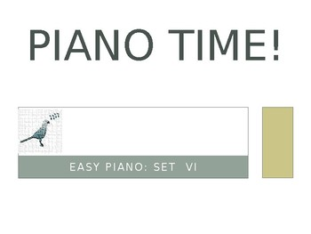 Piano Easy Songs Set 6