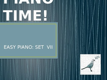 Piano Easy Songs Set 7