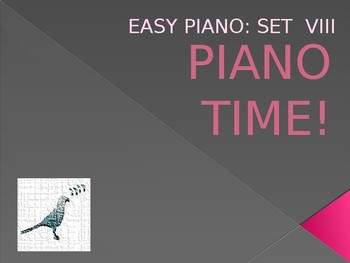 Piano Easy Songs Set 8