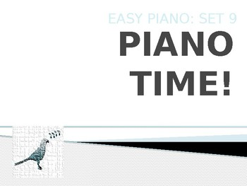 Piano Easy Songs Set 9