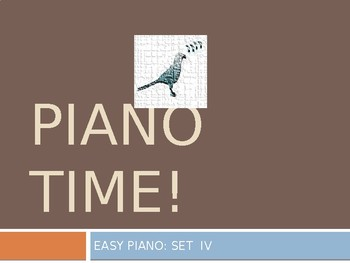 Piano Easy Songs Set IV