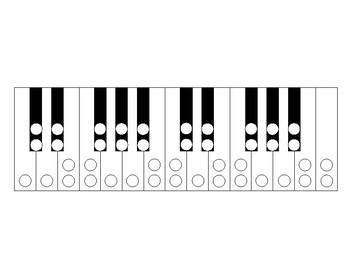 Piano Enharmonics Chromatic Scale Worksheet