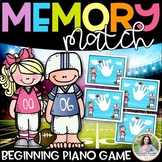 Piano Finger Numbers & RH LH Cards {Memory Match or Flash Cards!}