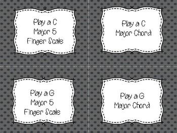 Piano Flash Cards Level 2 Modern Fall