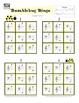 Piano Game Activity: Ladybug Note Reading Bingo