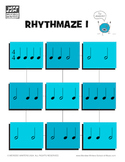 Piano Game Activity: Rhythmaze - Rhythm Drills