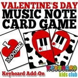 Piano Key Name Game for Valentine's Day