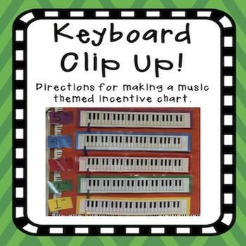 Piano Reward Clip Up Incentives
