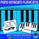 Piano Keyboard Flashcards