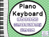 Piano Keyboard Note Names Matching Game