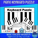 Piano Keyboard Puzzle