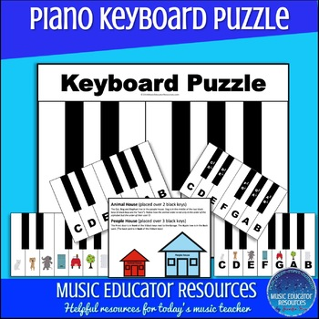 Piano Keyboard Puzzle