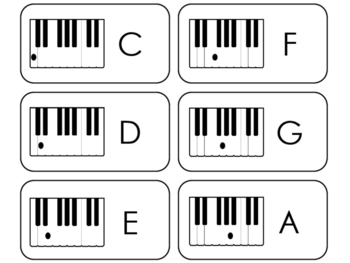 picture relating to Piano Flash Cards Printable known as Piano Keys Flashcards. Setting up Songs. Preschool-2nd Quality. Piano