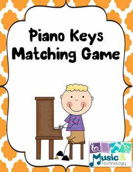Piano Keys Matching Game