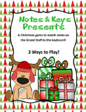 Piano Keys and Presents