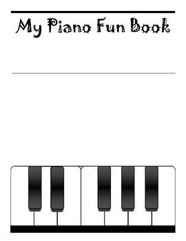 Piano Lap Book