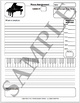 Piano Lessons Assignment Sheet VERSION 2 Starter Pack
