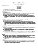 Piano Lessons - Contract