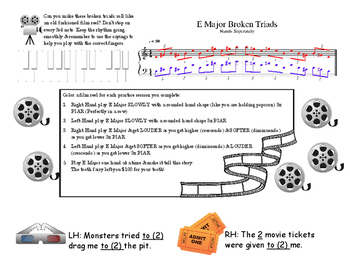 Piano Level 2 MOVIE Scales & Chords
