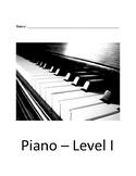 Piano Level I (With Songs Kids Know!)