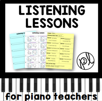 Piano Listening Lessons