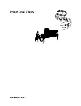 Piano Music Theory Primer Beginner Note Values Steps Skips Rests