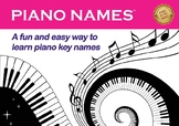 Piano Names: A Fun and Easy Way to Learn Piano Notes A B C D E F G