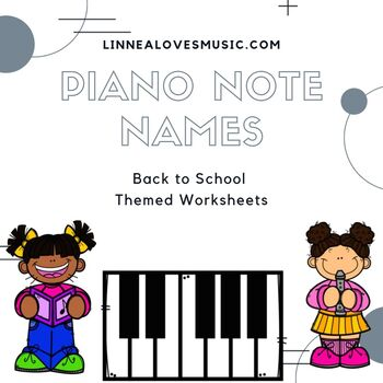 Piano Notes Worksheets & Teaching Resources | Teachers Pay