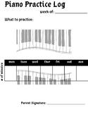 Piano Practice Log