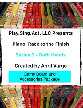 Piano: Race to the Finish - Both Hands Series - Accessories Package