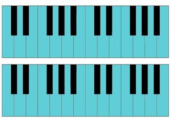 Piano Rewards Bulletin Board Kit- Elementary Music  Rewards System