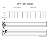 Piano Scale Builder