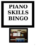 Piano Skills Bingo Game