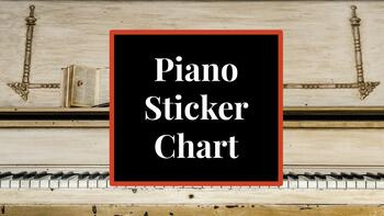 Piano Sticker Chart