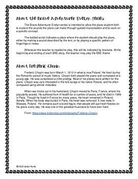 Piano Stories - Brave Adventurer Evelyn 2: Black Keys