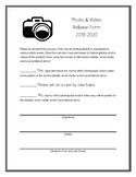 Piano Studio Media Release Form